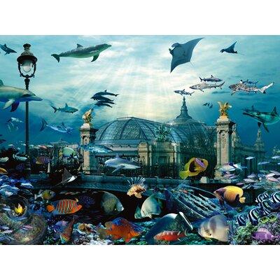 """DEInternationalGraphics """"Grand Palais Aquarium"""" von Patrick Le Hec´h, Grafikdruck"""