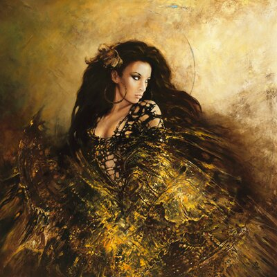 DEInternationalGraphics Dance with Light II Kunstdruck von Karol Bak