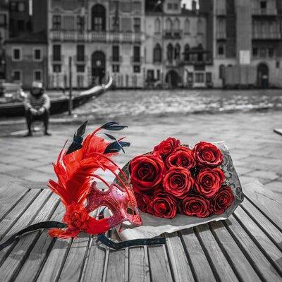 """DEInternationalGraphics """"Venice I"""" von Assaf Frank, Fotodruck"""