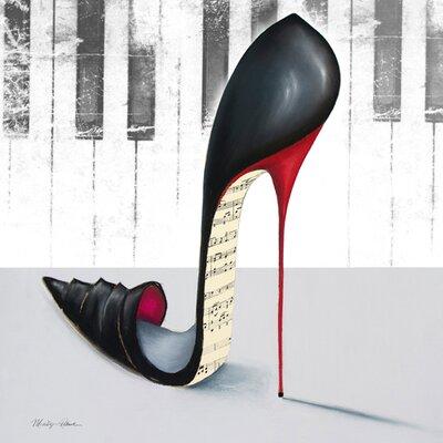 """DEInternationalGraphics """"Piano"""" von Marilyn Robertson, Kunstdruck"""