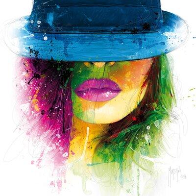"""DEInternationalGraphics """"Acrylglasbild Coralie II"""" von Patrice Murciano, Kunstderuck"""