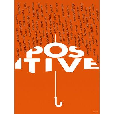 """DEInternationalGraphics """"Positive"""" von 100toni, Typografische Kunst"""