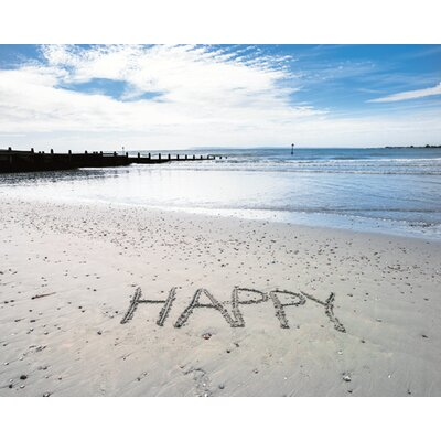 "DEInternationalGraphics ""Happy"" von Assaf Frank, Fotodruck"