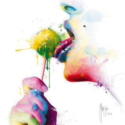 "DEInternationalGraphics ""Chupa"" von Patrice Murciano, Kunstdruck"