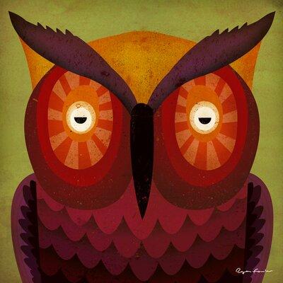 """DEInternationalGraphics Acrylglasbild """"Owl WOW"""" von Ryan Fowler, Kunstdruck"""
