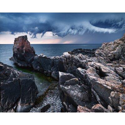 """DEInternationalGraphics """"Approaching Storm"""" von Hans Strand, Fotodruck"""