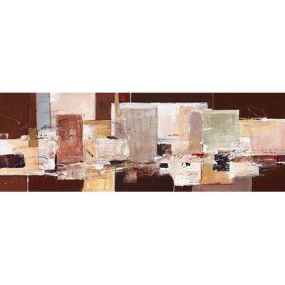 """DEInternationalGraphics """"Abstract Harmony IX"""" von Ron van der Werf, Kunstdruck"""