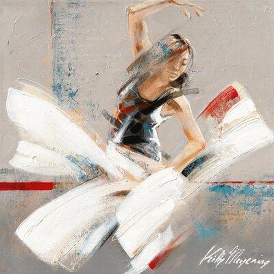 "DEInternationalGraphics ""Dance Fusion II"" von Kitty Meijering, Kunstdruck"