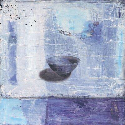 """DEInternationalGraphics """"Bleu et transparence"""" von Marylin Cavin, Kunstdruck"""