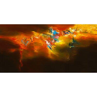 DEInternationalGraphics Global Firedance Kunstdruck von ARVEE