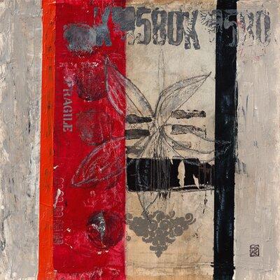 """DEInternationalGraphics """"Fragile IV"""" von Marie- Pascale Engelmann, Kunstdruck"""