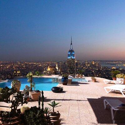 DEInternationalGraphics Beautiful View of New York Photodruck