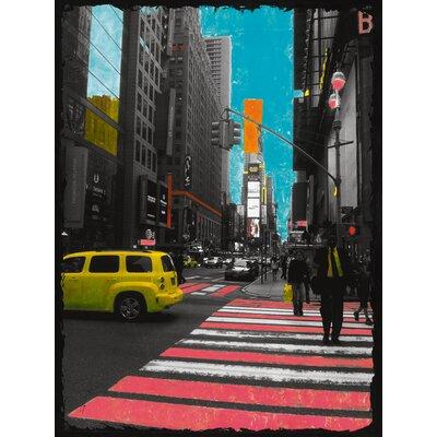 """DEInternationalGraphics """"Pink Corner"""" von Riccardo Simonutti, Fotodruck"""