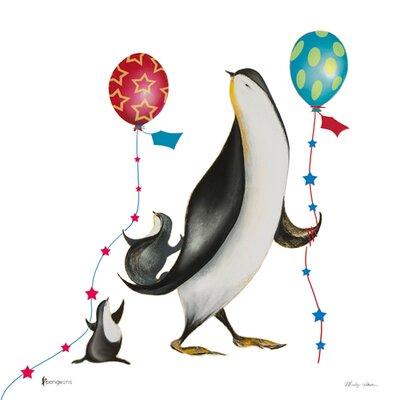 "DEInternationalGraphics ""Mr. Balloon"" von Marilyn Robertson, Kunstdruck"