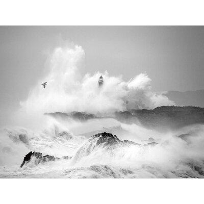 """DEInternationalGraphics """"Storm in Cantabria"""" von Marina Cano, Fotodruck"""
