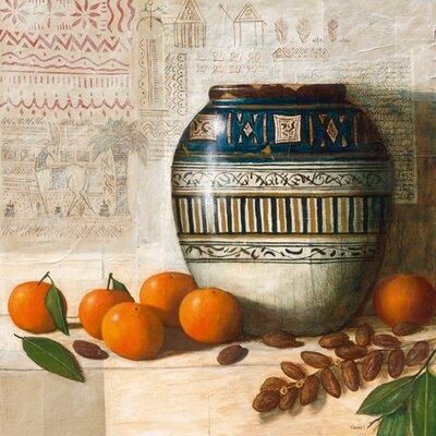 """DEInternationalGraphics """"Céramique tunisienne"""" von Pascal Lionnet, Kunstdruck"""