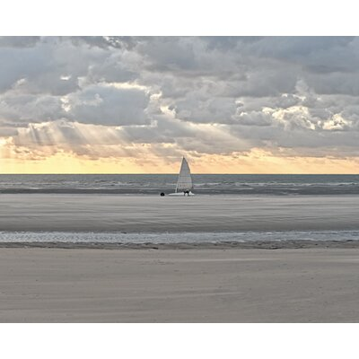 """DEInternationalGraphics """"Sunset Ride"""" von Georges- Félix Cohen, Fotodruck"""