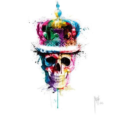 """DEInternationalGraphics Acrylglasbild """"God save the Queen"""" von Patrice Murciano, Kunstdruck"""