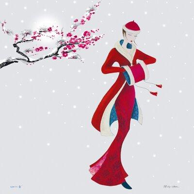 """DEInternationalGraphics """"Crystal Snow"""" von Marilyn Robertson, Kunstdruck"""