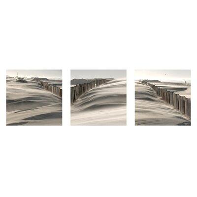 """DEInternationalGraphics """"Sand, Wind"""" von Georges- Félix Cohen Kunstdruck"""