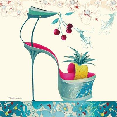 "DEInternationalGraphics ""Tutti Frutti"" von Marilyn Robertson, Kunstdruck"