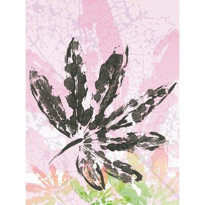 """DEInternationalGraphics """"Leaf Study rose III"""" von SARA Design, Kunstdruck"""