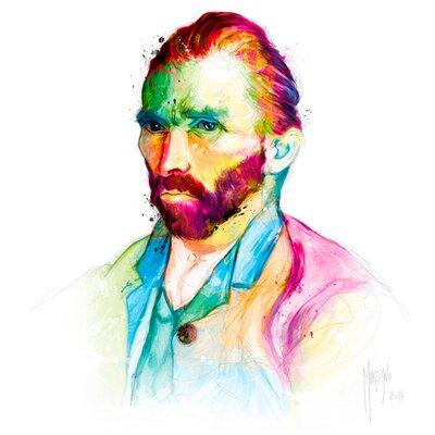 """DEInternationalGraphics Acrylglasbild """"van Gogh"""" von Patrice Murciano, Kunstudruck"""