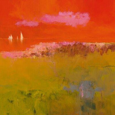 """DEInternationalGraphics """"Pink Cloud"""" von Jan Groenhart, Kunstdruck"""