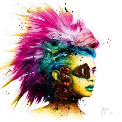 """DEInternationalGraphics """"Cyber Punk 2"""" von Patrice Murciano, Kunstdruck"""