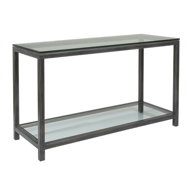 Metal Designs Console Table Table Base Color: St. Laurent