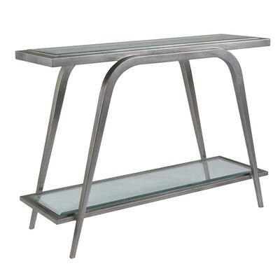 Metal Designs Console Table Table Base Color: Argento