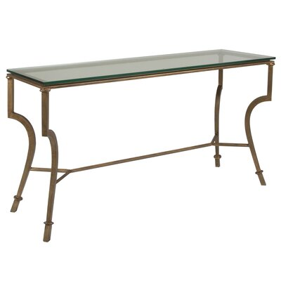 Metal Designs Console Table Table Base Color: Renaissance