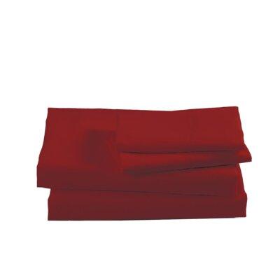Sheet Set Color: Garnet, Size: Queen