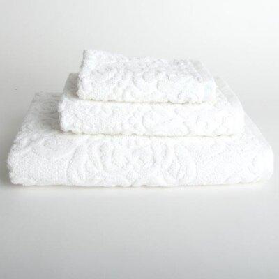 Sanderson 3 Piece Turkish Cotton Bath Towel Set Color: White