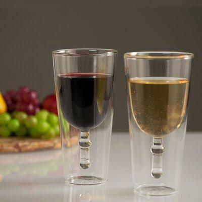 Wine Grail 11 oz. Double Wall Wine Glass