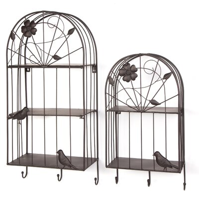 Birdcage 2 Piece Key Holder