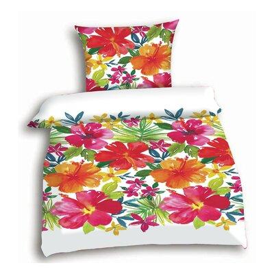 Living Dreams Bettwäsche-Set Hibiscus Flowers