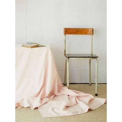 Holly's House Powder Pink Tiny Triangles Tablecloth