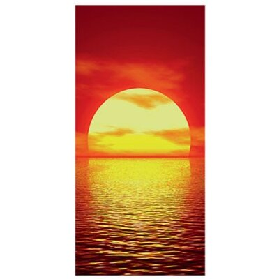 PPS. Imaging GmbH Tapete Red Sunset 210 x 100 cm B