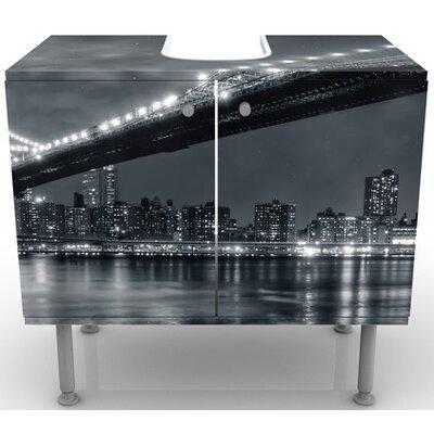 PPS. Imaging GmbH 60 cm Waschbeckenunterschrank Manhattan Mysteries