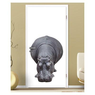 PPS. Imaging GmbH Tapete Big Hippo 210 cm H x 100 cm B