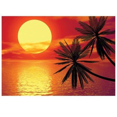 PPS. Imaging GmbH Tapete Romantic Sunset 280 cm H x 400 cm B
