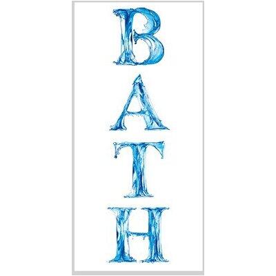 PPS. Imaging GmbH Tapete Bath 210 cm H x 100 cm B