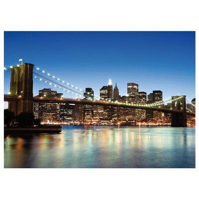 PPS. Imaging GmbH Tapete Manhattan Brooklyn Bridge 200 cm B cm H x 280 cm B