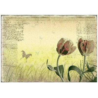 PPS. Imaging GmbH Tapete Spring Tulips 280 cm B cm H x 400 cm B