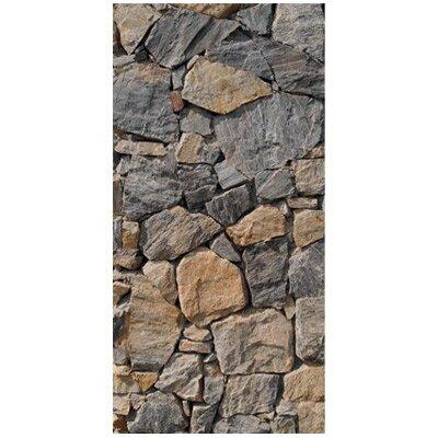 PPS. Imaging GmbH Tapete Wall of Granite 210 cm H x 100 cm B