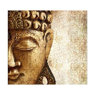 PPS. Imaging GmbH Tapete Ancient Buddha 280 cm B cm H x 300 cm B