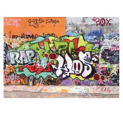 PPS. Imaging GmbH Tapete Graffiti Wall 280 cm H x 400 cm B