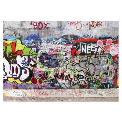 PPS. Imaging GmbH Tapete Cool Graffiti 280 cm H x 400 cm B