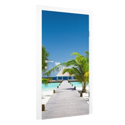 PPS. Imaging GmbH Tapete Catwalk to Paradise 215 cm B cm H x 96 cm B